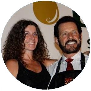 Dr. Gabriele Prakama Hauser mit Gary Young