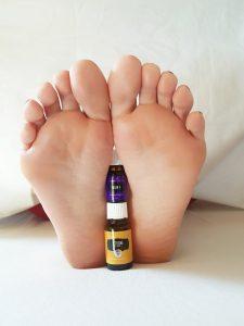 Spa-Behandlung für die Füße