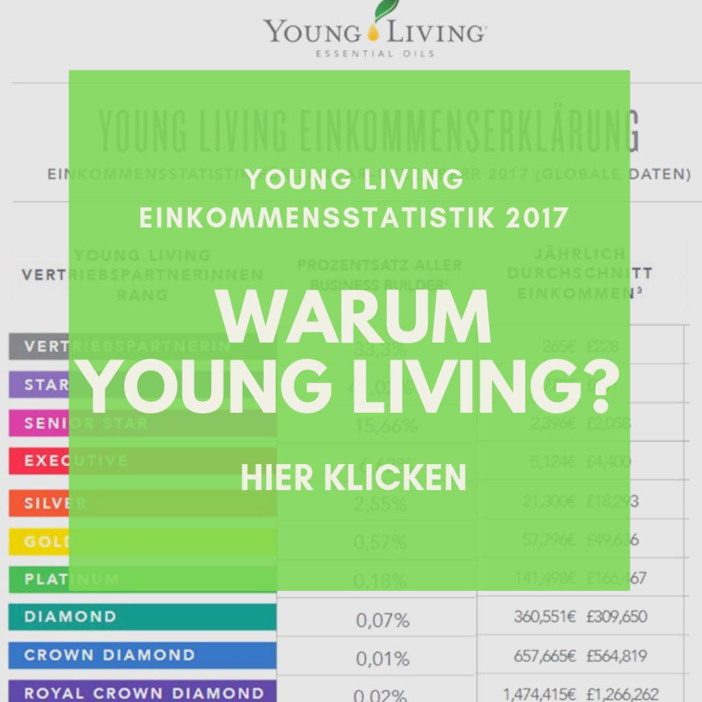 Young Living Einkommensstatistik 2017