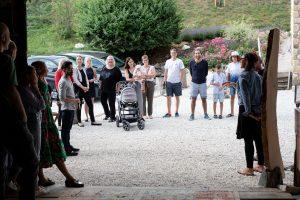 Kunstausstellung im AROMAREICH - Vernissage über den Lavendel mit Künstlerin Mejra