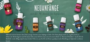 Young Living Aktion Promotion September 2019 Flyer Header