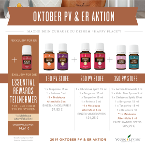 Young Living Aktion Promotion Oktober 2019 Micrographic