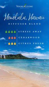 Young Living Ölmischung zum Selbermachen Honolulu Hawaii USA