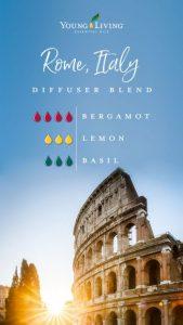 Young Living Ölmischung zum Selbermachen Rom Italien