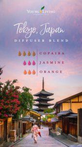 Young Living Ölmischung zum Selbermachen Tokio Japan