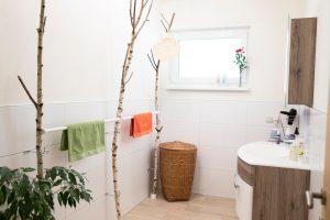 Übernachten im AROMAREICH Badezimmer