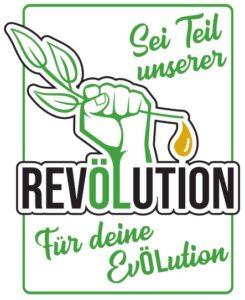 Sei Teil unserer RevÖLution Logo