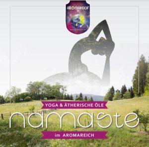 Yoga & Ätherische Öle NAMASTE im AROMAREICH Titelbild